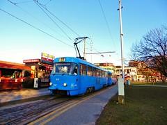 ZET 417 on route 6 at Črnomerec, Zagreb - 29th December 2016