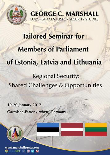 Tailored Seminar for Members of the Parliaments of Estonia, Latvia and Lithuania