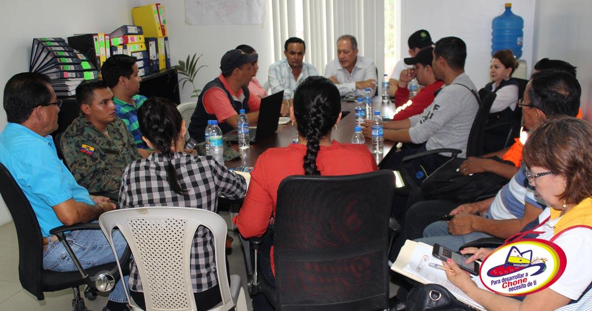 COE Cantonal evalúa y planifica actividades