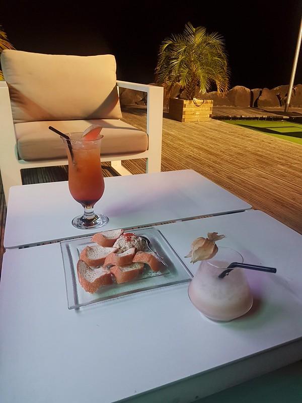 Guadeloupe, fördrink!