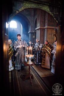Литургия в Софийском соборе 460