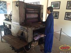 Vietnam money-printing press