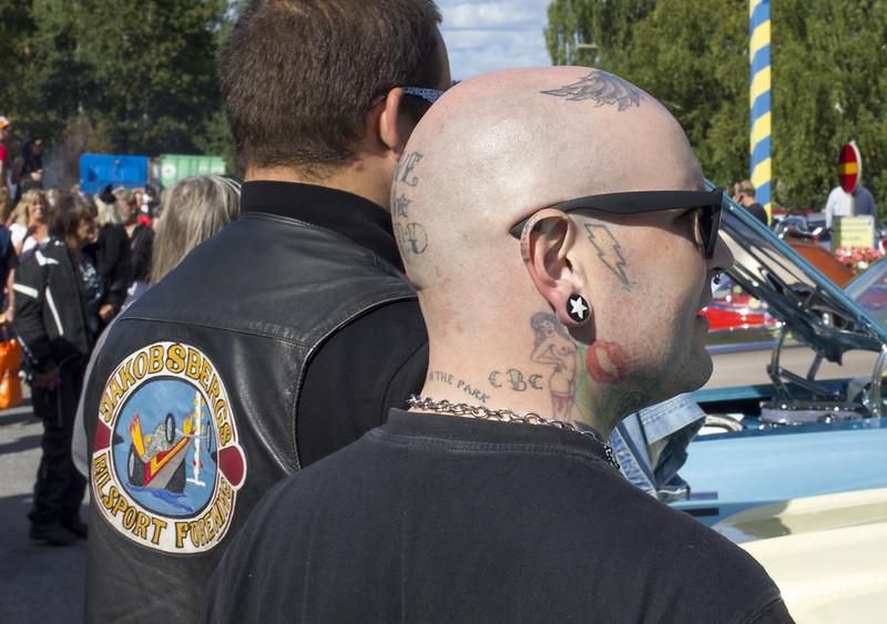 Pin-up girl tattoo