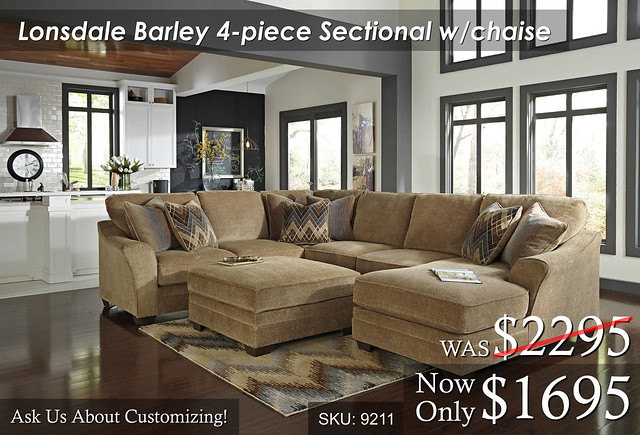Lonsdale Barley Sectional