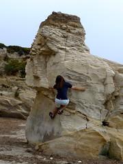 Deniz the rock climber