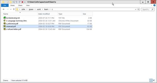 Windows 10 Explorer Simplified