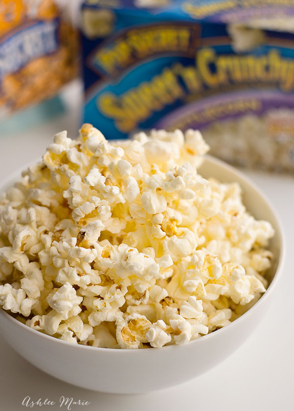 kettle corn is a the perfect simple and sweet treat to represent invisible girl
