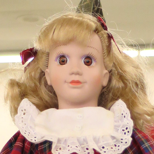 school doll close