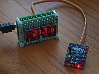 "DIY: Hexadecimal LED Displays Showing Time (aka, ""its just a clock"")"