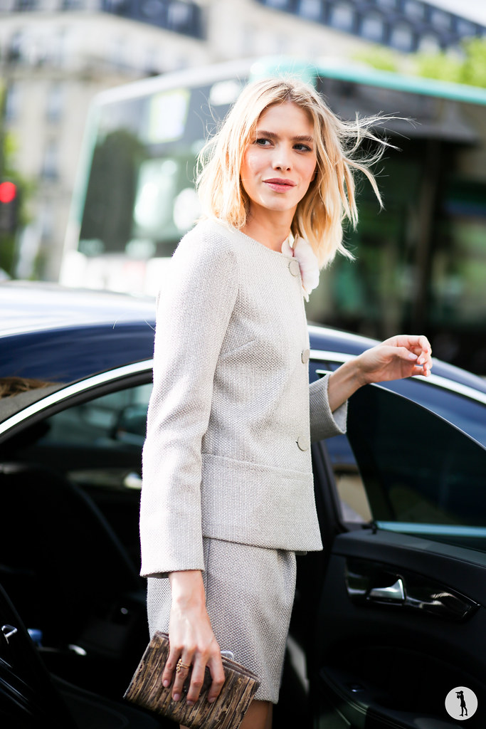 Elena Perminova at Paris Fashion Week Haute Couture