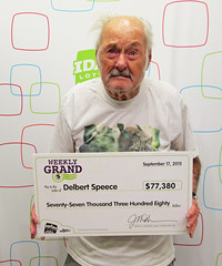 Delbert Speece - $77,380.95 Weekly Grand