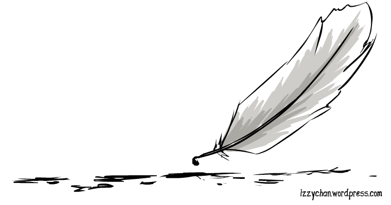 feather quill ink