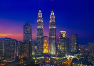 Kuala Lumpur & Sunset