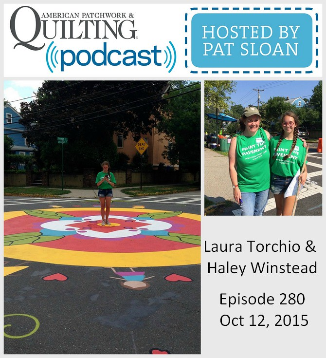 American Patchwork Quilting Pocast episode 280 Laura Torchio
