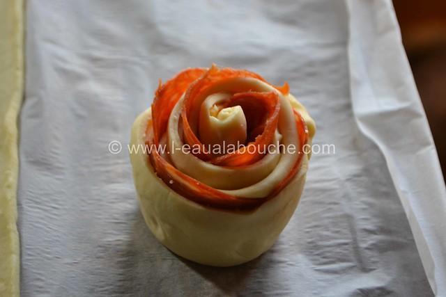 Rose au Chorizo et au Cheddar © Ana Luthi Tous droits réservés 08