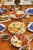Sardinian dinner with our premium neighbours