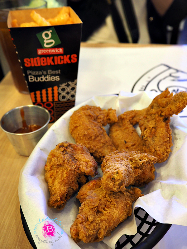 greenwich wacky wings and pizza fries
