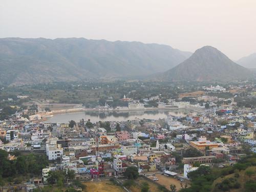 Pushkar et son lac