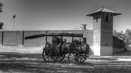 Outside Hay Gaol