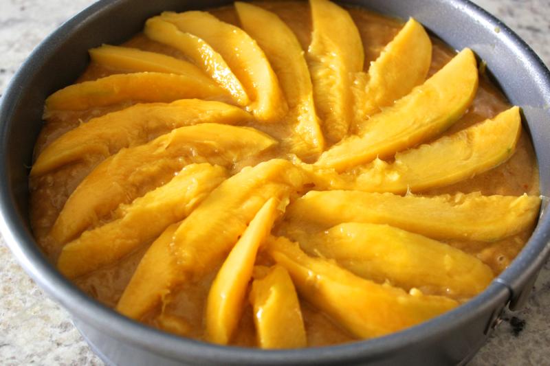 Pumpkin-Mango Cake