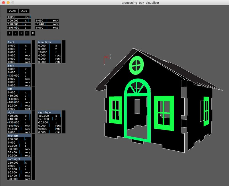Processing House Visualizer