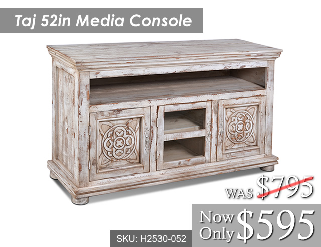 Taj Media Console