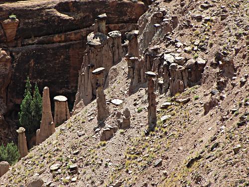 rural colorado delta erosion highdesert geology hoodoos escalantecanyon