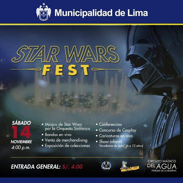 STAR WARS FEST PERU 2015