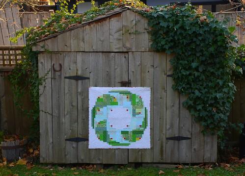 Evergreen Quilt by Poppyprint