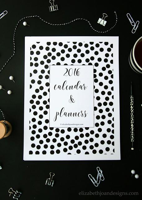 2016 Printable Calendar & Planners