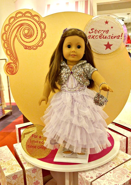 American Girl Store holiday exclusive dress