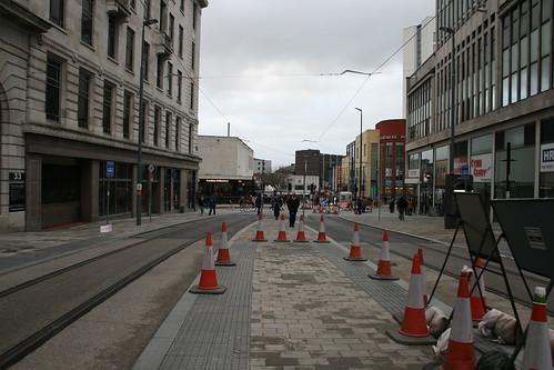 Tracks to New Street