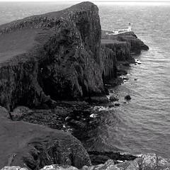 Neist point. Isle of Skye Mhairi got close to the edge here.