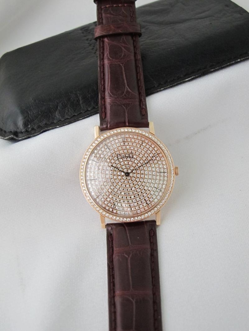 Bán đồng hồ Piaget Altiplano – Vàng hồng 18k Rose gold – Máy lên giây thiều – Size 38