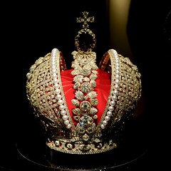 Hermitage Amsterdam 2016 ? Replica of Catherine the Great?s imperial crown