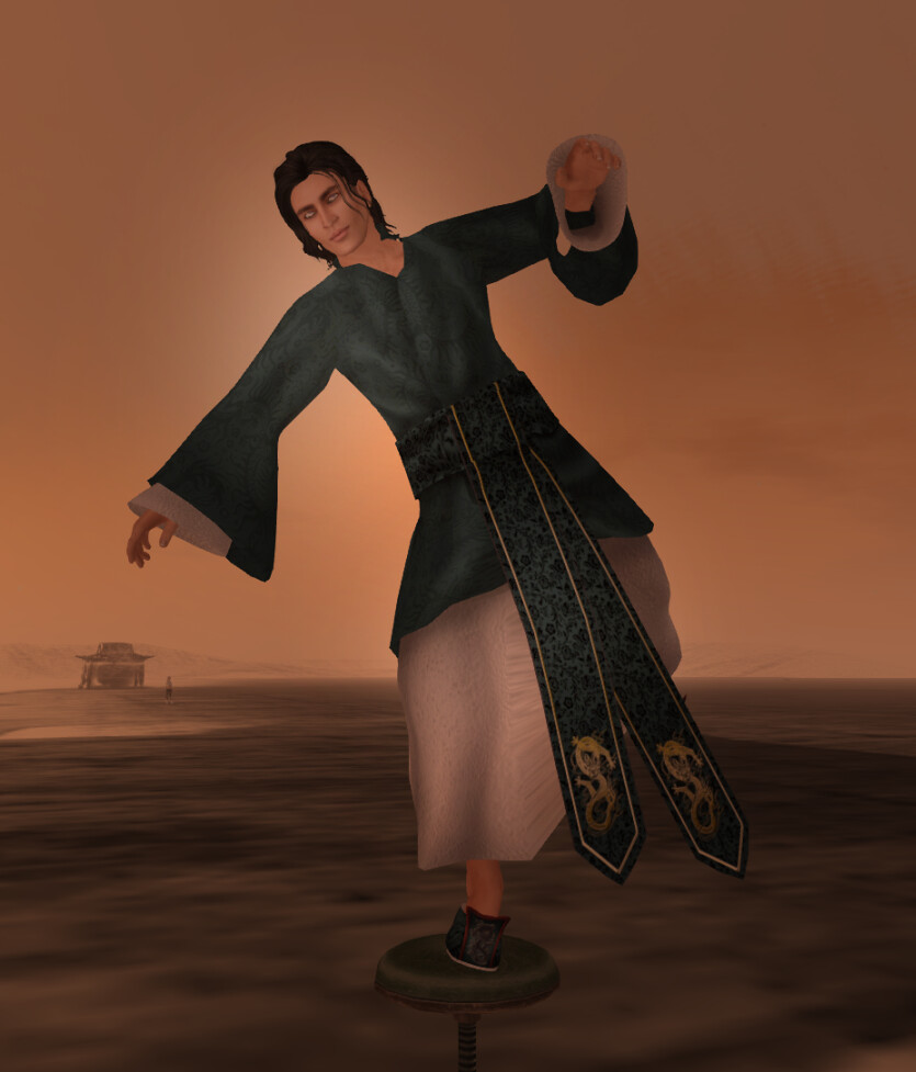 Avatar Bizarre Qing Long Hanfu Male