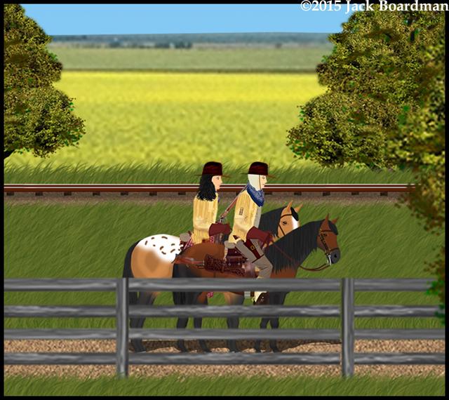 Chris found herself riding next to Lacy Dalton ©2015 Jack Boardman