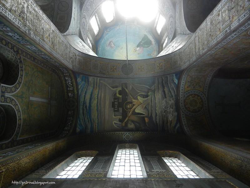 Трех-Анастасиевский собор, росписи