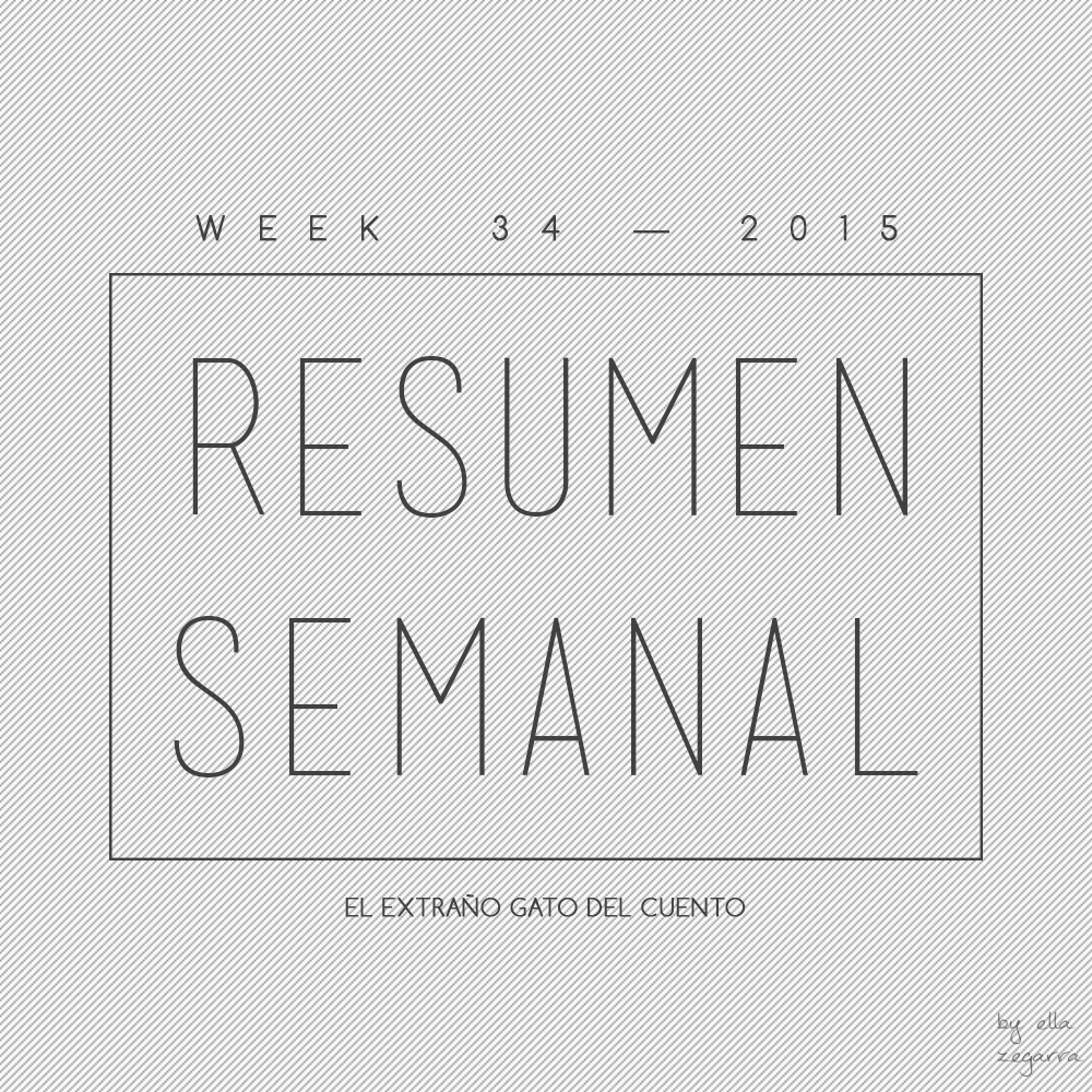 Resumen Semanal - week 34