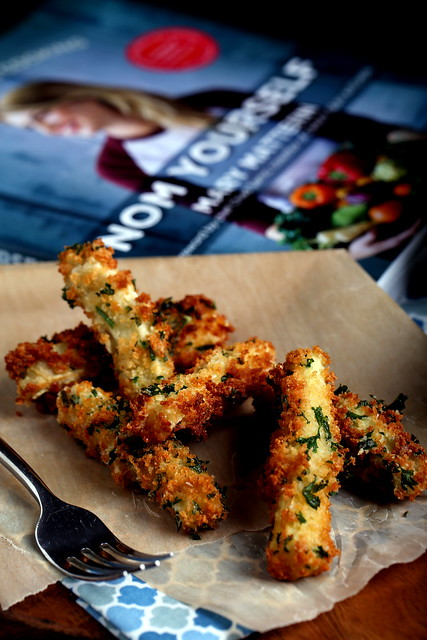 Fried Eggplant Sticks