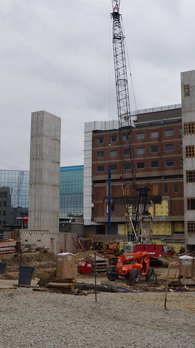 DMC Children's Hospital of Michigan Beam Raising Ceremony