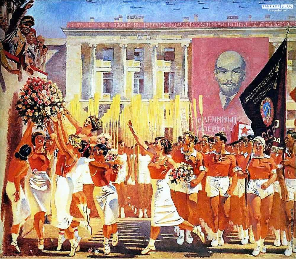 苏联20、30年代各类宣传画25