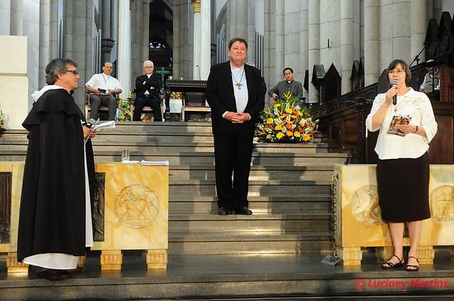 Encuentro del Cardeal João Braz de Aviz con religiosos (Foto: Luciney Martins)