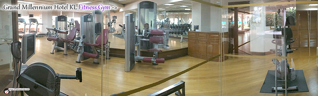 Grand Millennium KL Gym Panorama