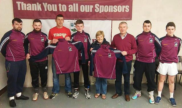 GAA U16 sponsorship tops