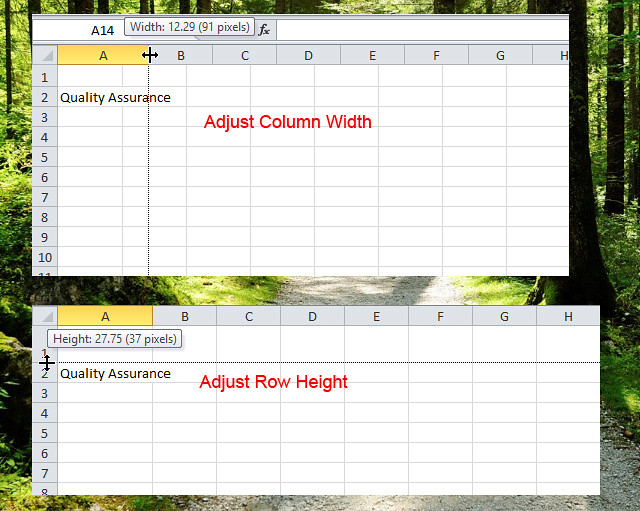 How to Use Autofit for Columns in Excel 2016  dummies