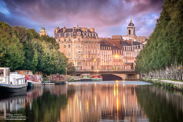 Rennes - les quais de la Vilaine
