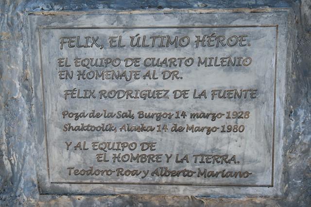Escultura Félix Rodríguez de la Fuente