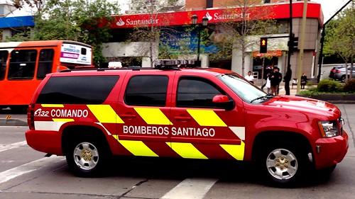 Chevrolet Suburban Bomberos Santiago - Chile