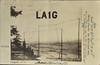 Vintage LA1G Rare Early Qsl card sent to G5RV Louis Varney circa 1935
